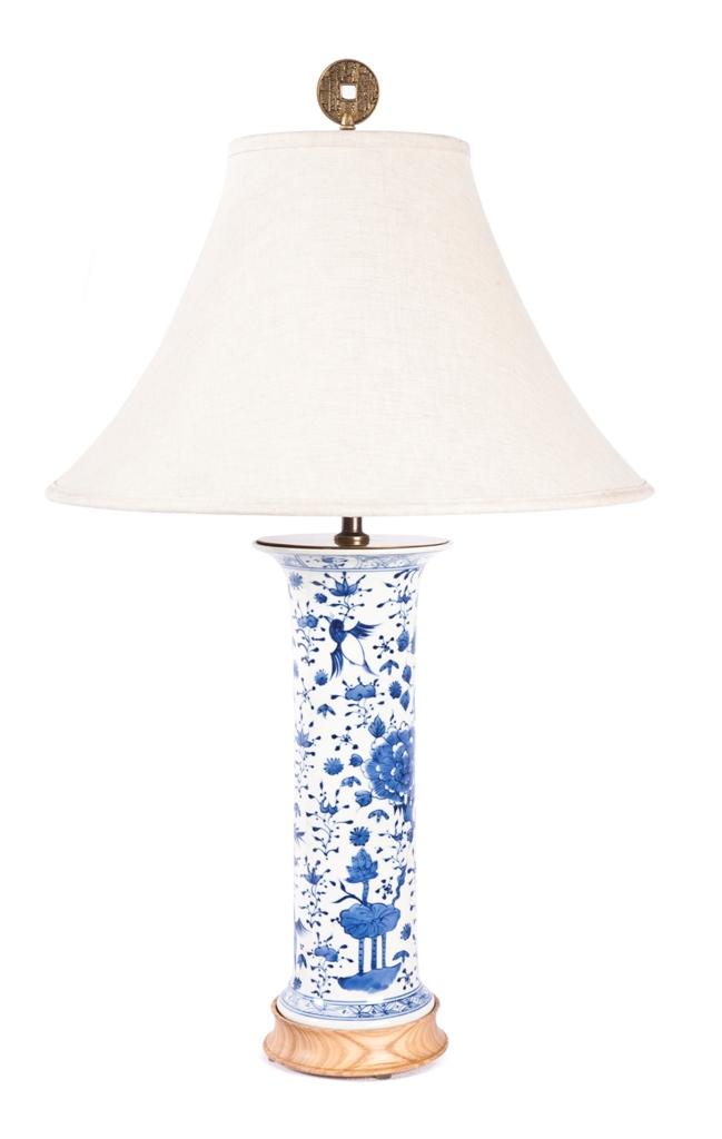 blue white lamp photo - 10