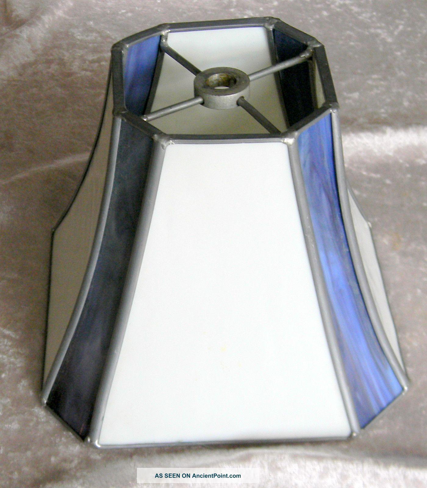 blue white lamp photo - 4
