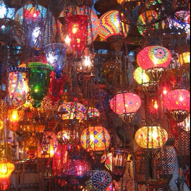 bohemian lamps photo - 4