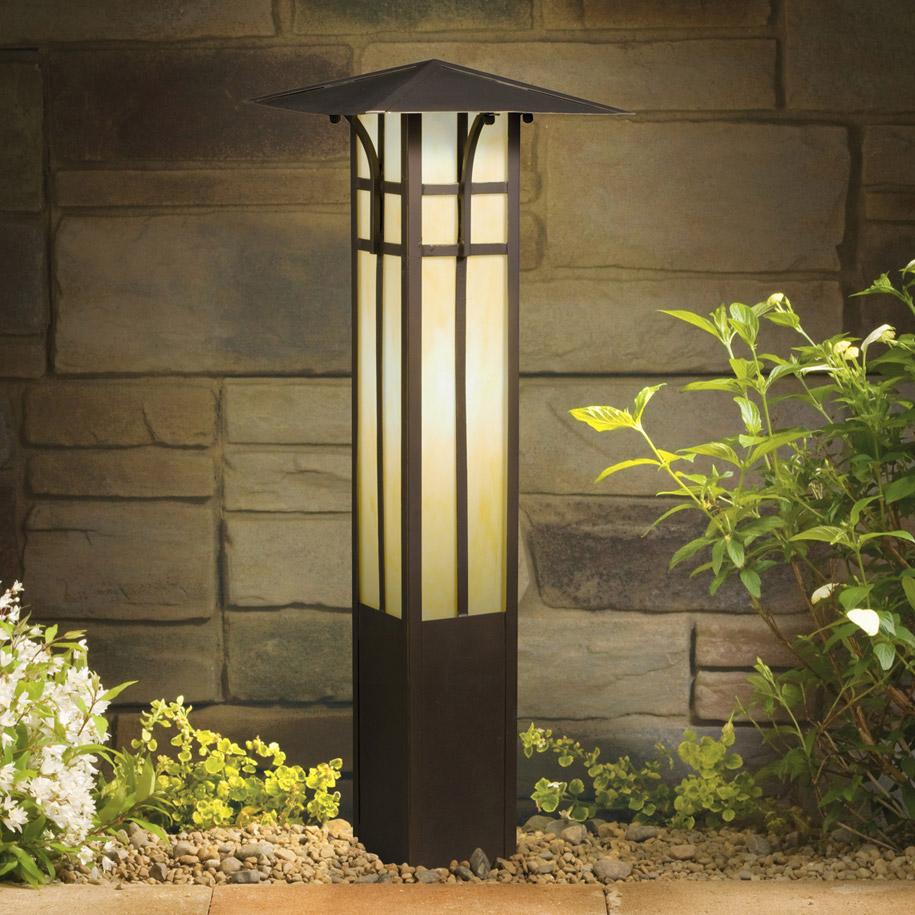 bollard lights outdoor photo - 9