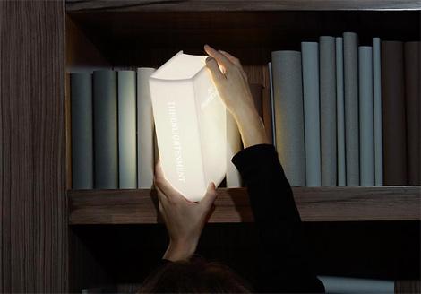 Bookshelf lamp - Lighting is the Source of Enlightenment ...