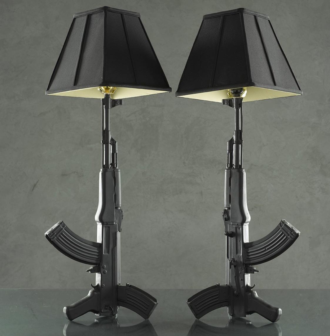 boondock saints lamp intriguing piece for your home warisan lighting. Black Bedroom Furniture Sets. Home Design Ideas