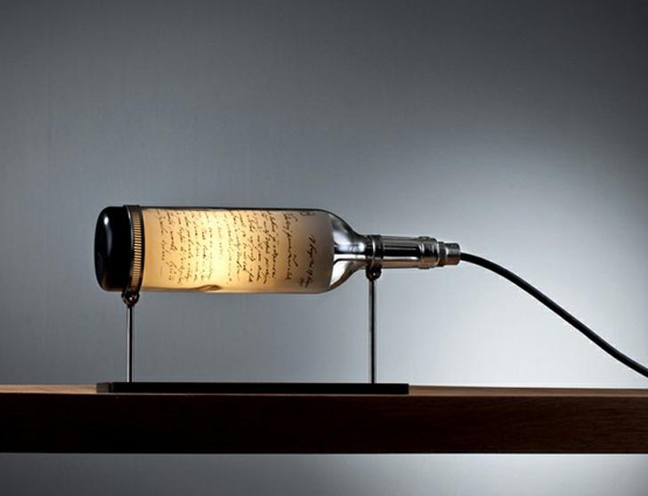 bottle lamps photo - 3