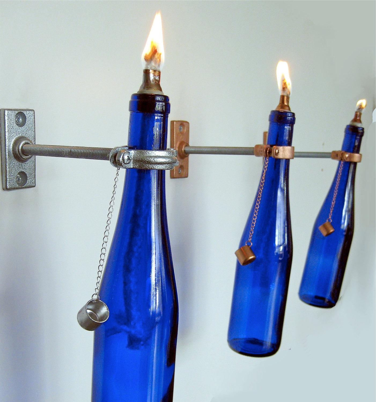 bottle lamps photo - 4