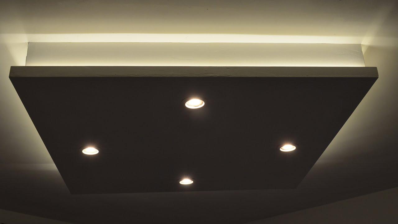 box ceiling light photo - 1