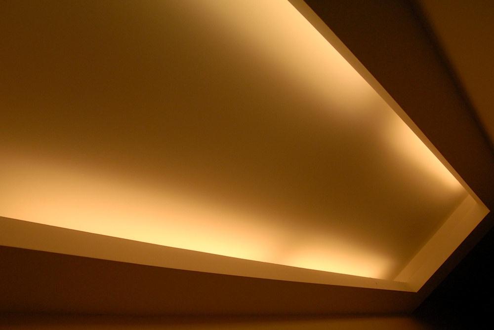 box ceiling light photo - 2