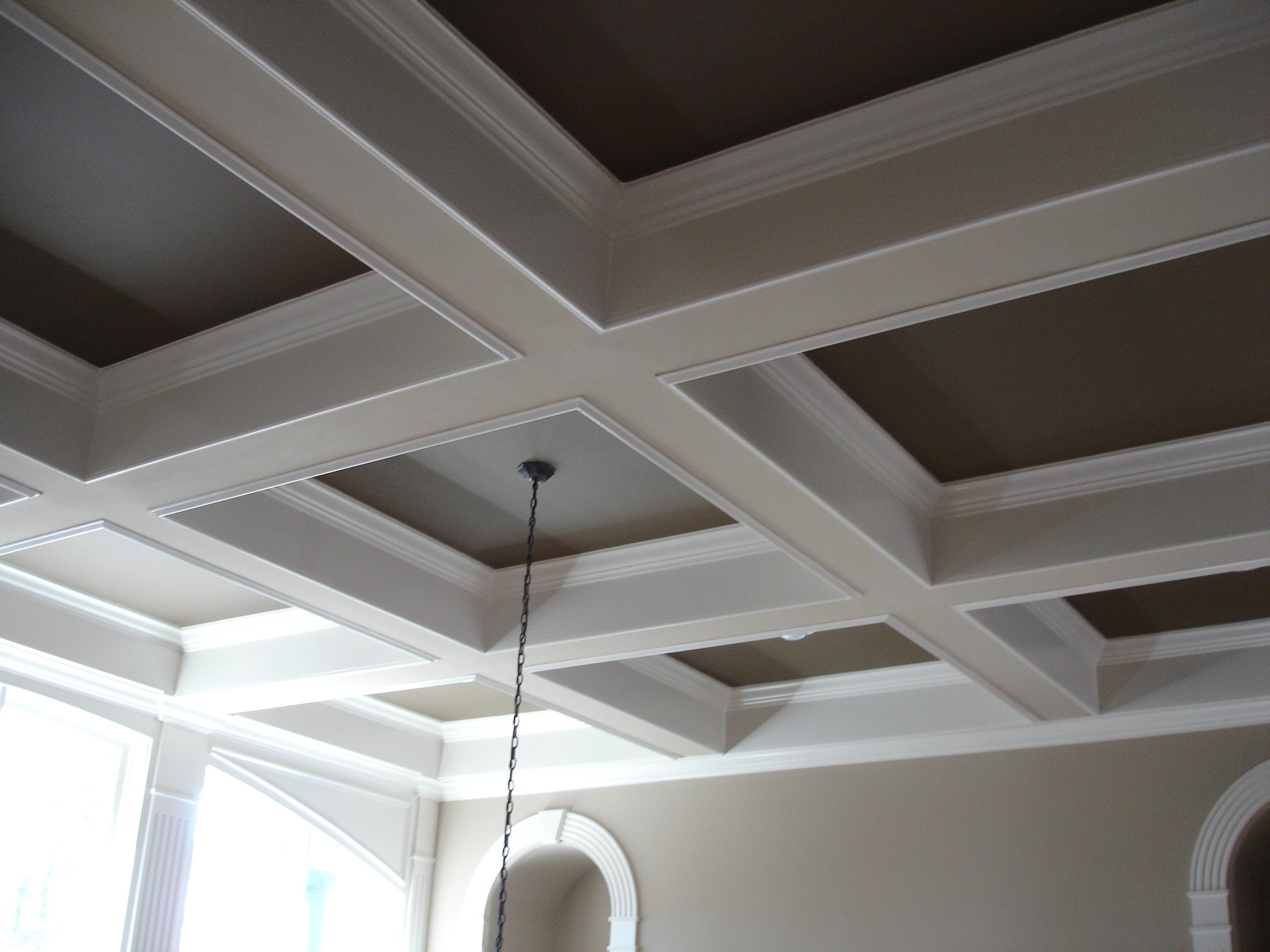 box ceiling light photo - 4