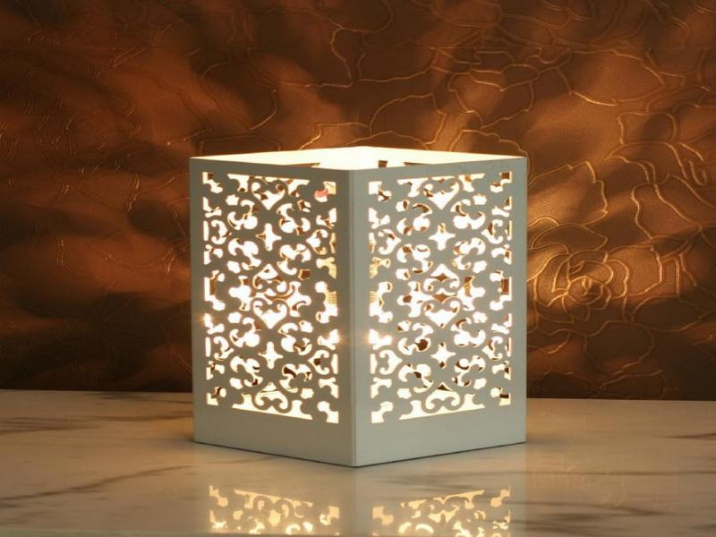 box lamps photo - 2