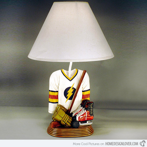 boys table lamps photo - 10