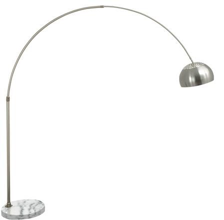 brass arc floor lamp photo 6