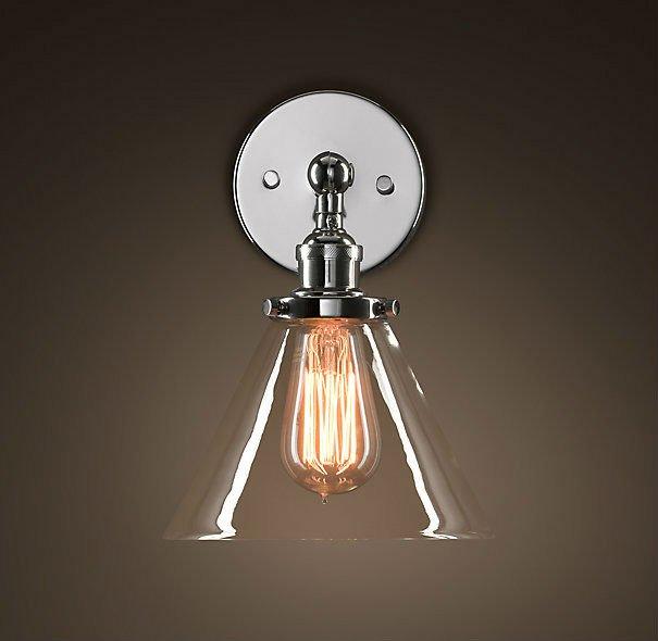 brass bathroom wall lights photo - 5