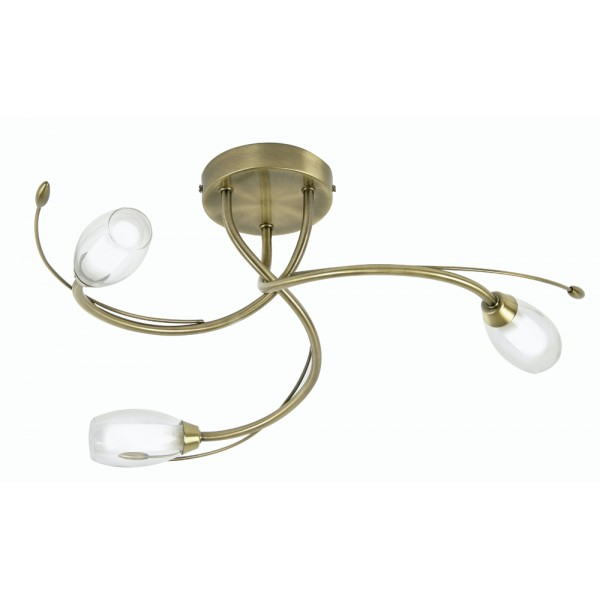 brass ceiling lights photo - 1