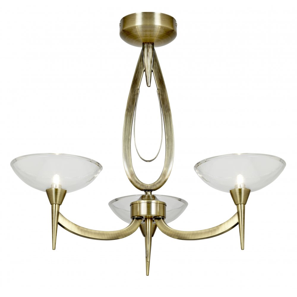 brass ceiling lights photo - 10