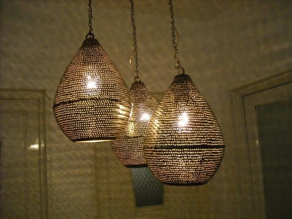 brass ceiling lights modern photo - 4