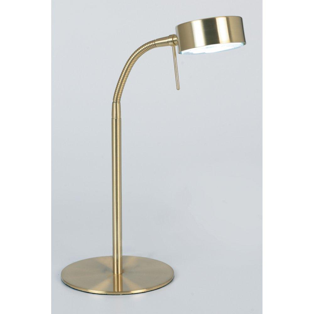 brass desk lamps photo - 2