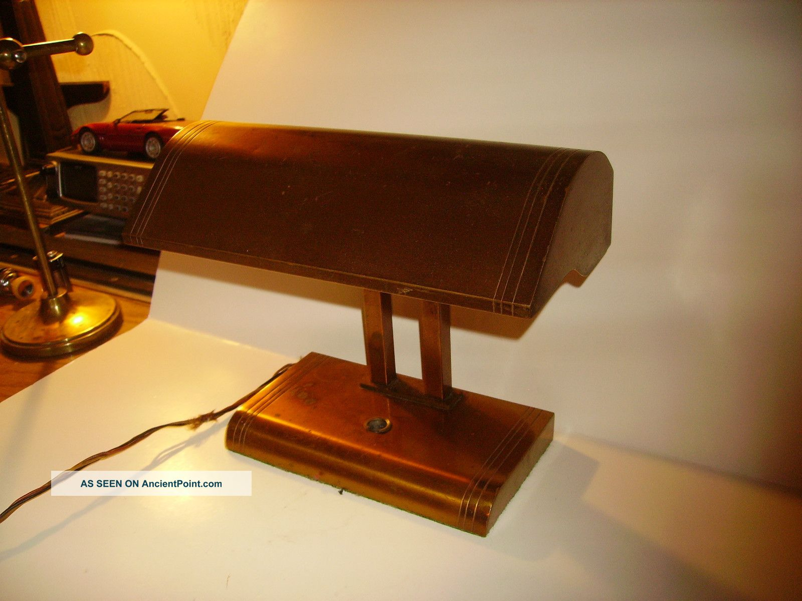 Vintage bankers desk lamp -  Old Fashioned Desk Lamp Hostgarcia Old Desk Lamp Vintage