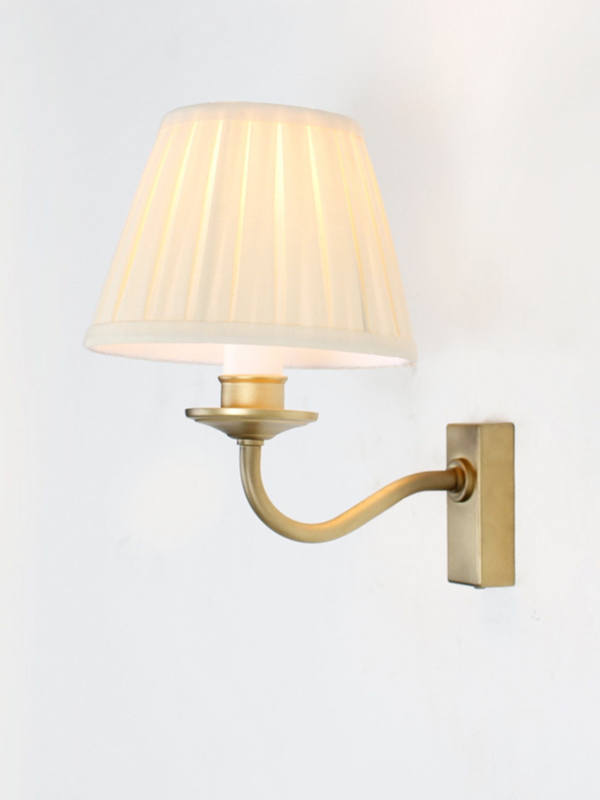 brass effect wall lights photo - 2