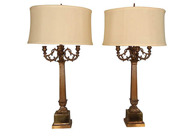 brass lamps photo - 7