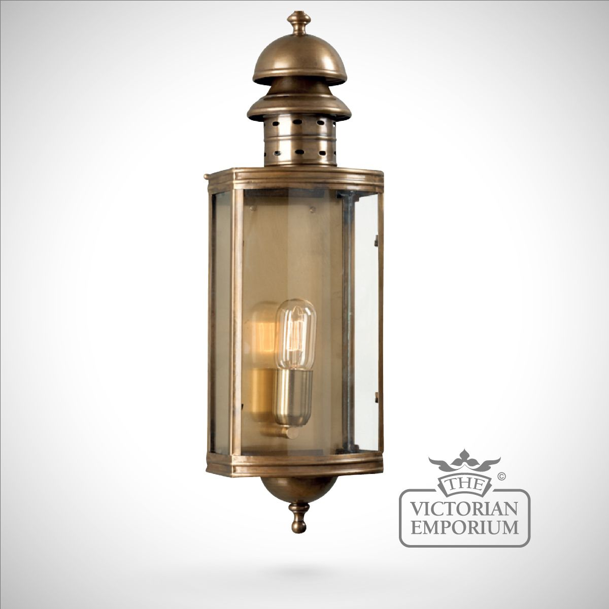 brass outdoor wall lights photo - 3