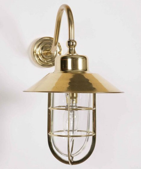 Brass Outdoor Wall Lights Offer Maximum Beam Spread Lighting Levels And Decorative Compliment
