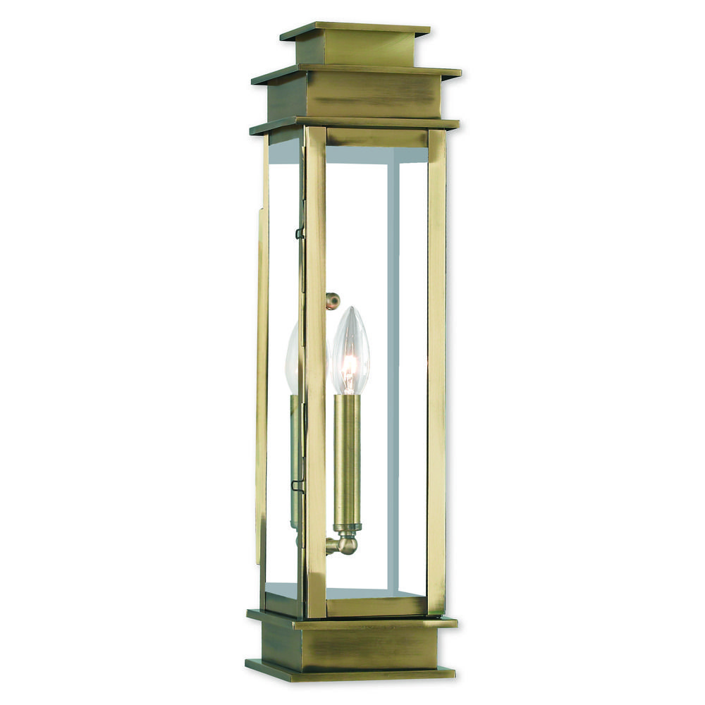 brass outdoor wall lights photo - 9