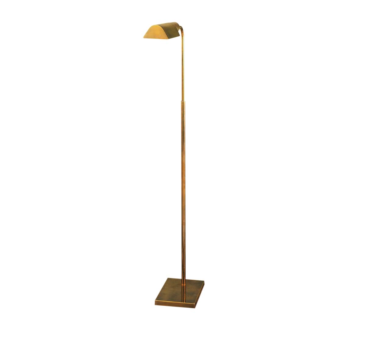 brass pharmacy floor lamp photo - 5