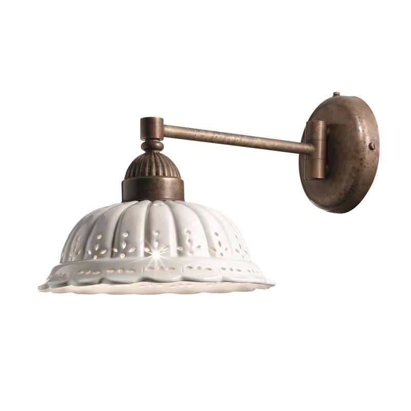 brass wall light fittings photo - 4