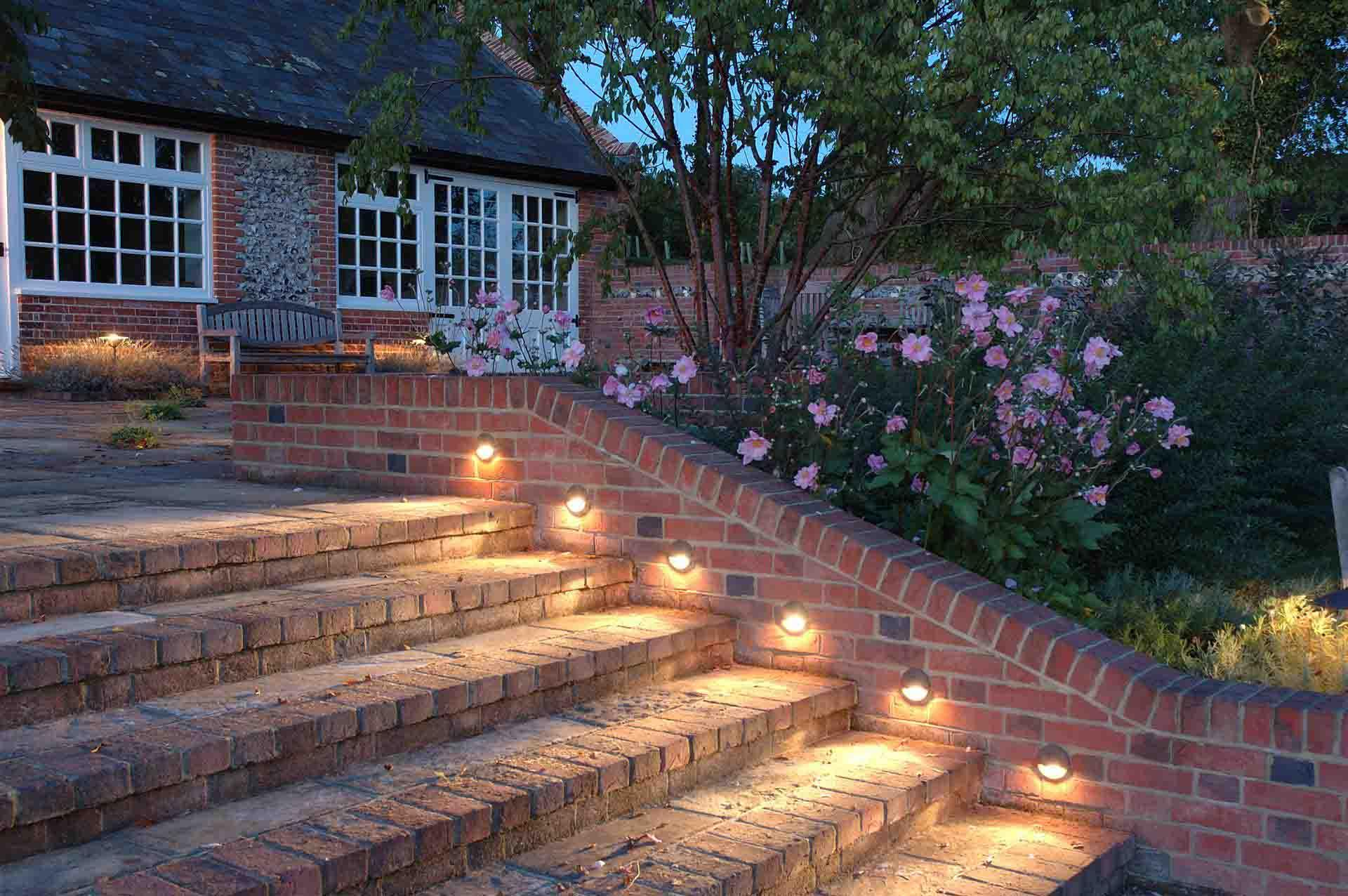 brick lights outdoor photo - 10