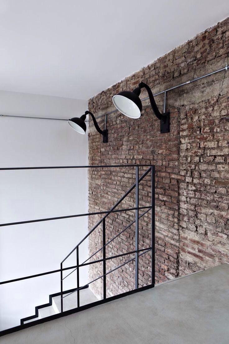 brick wall lights photo - 9