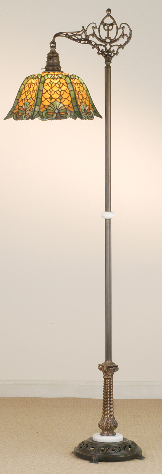 bridge floor lamp photo - 3