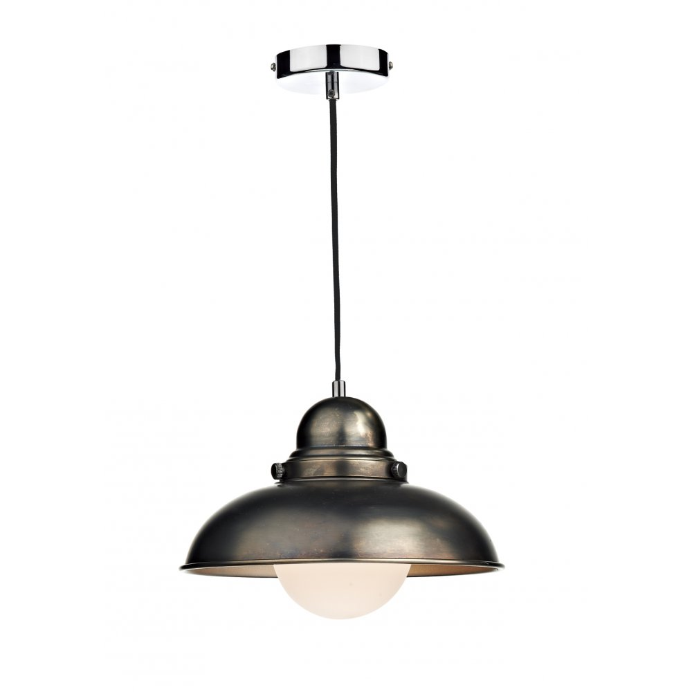 brushed chrome ceiling lights photo - 1