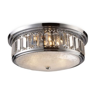 brushed chrome ceiling lights photo - 10