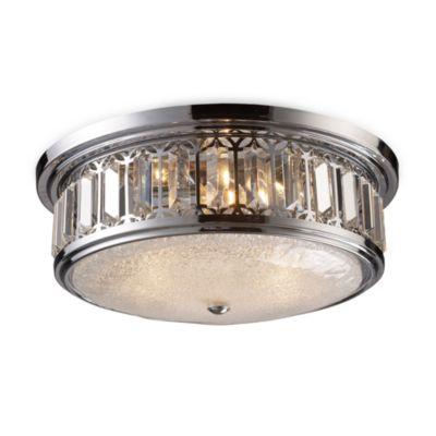 brushed chrome ceiling lights photo - 10