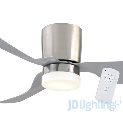 brushed chrome ceiling lights photo - 3
