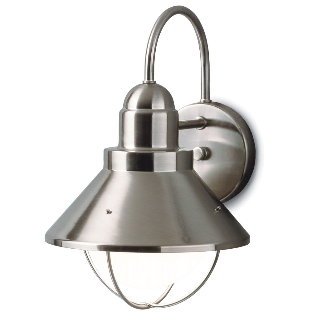 10 Reasons To Install Brushed Nickel Outdoor Lights