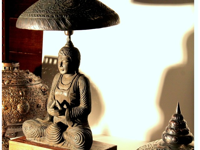buddha lamps photo - 7