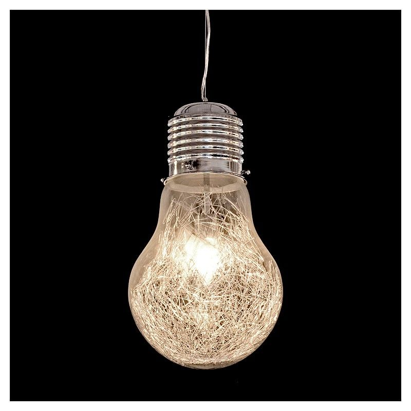 bulb shaped ceiling light photo - 1