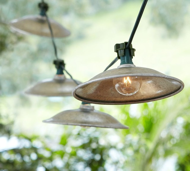 cafe string lights outdoor photo - 10