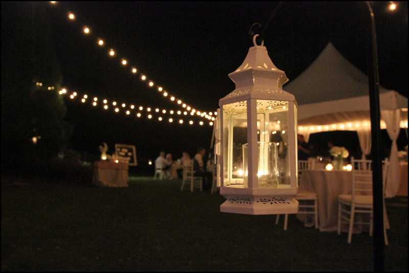 cafe string lights outdoor photo - 9