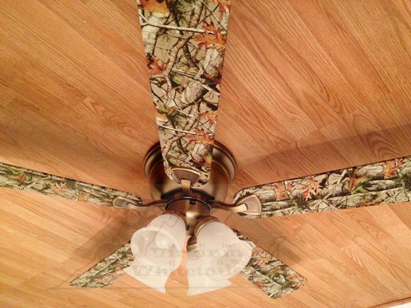 camo ceiling fans photo - 2