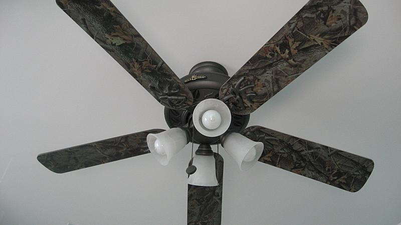 camo ceiling fans photo - 3