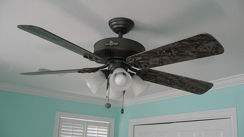 camo ceiling fans photo - 7
