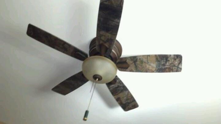 camo ceiling fans photo - 8
