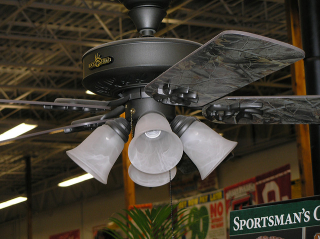 camouflage ceiling fans photo - 7