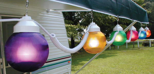 camper outdoor lights photo - 2