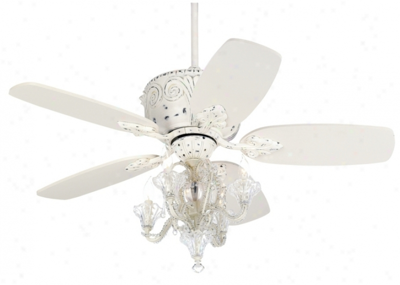 candelabra ceiling fan photo - 1