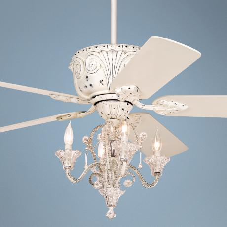 candelabra ceiling fan photo - 3