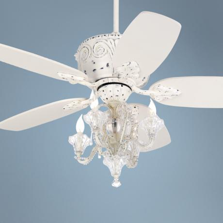 candelabra ceiling fan photo - 5