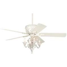 candelabra ceiling fan photo - 8