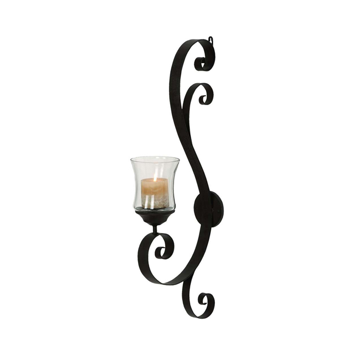 candle light wall sconces photo - 8